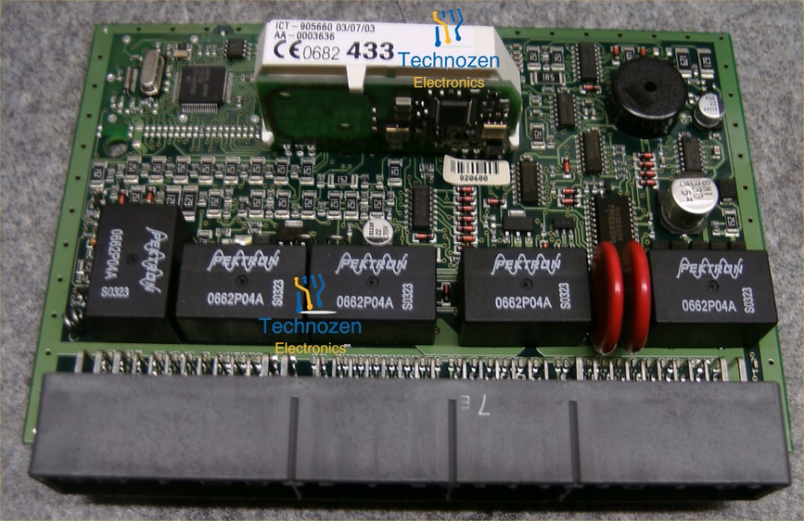 the pektron scu was introduced by mg-rover in 2003 and was designed to  replace several electronic modules and integrate all of their functions  into one